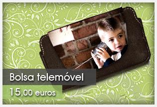 Bolsa para telemóvel com foto