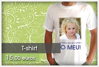T-shirt com foto