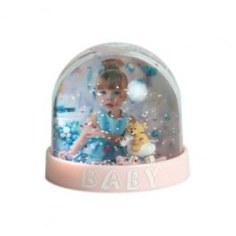 Bola de Neve Bebé Rosa