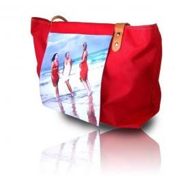 Saco de praia personalizado com foto