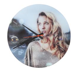 Relógio de Vidro - Personalizado
