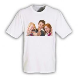 T-Shirt Branca Adulto