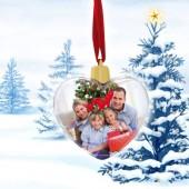 Bola de Natal Coração