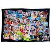 Manta com fotos 90x140 com montagem